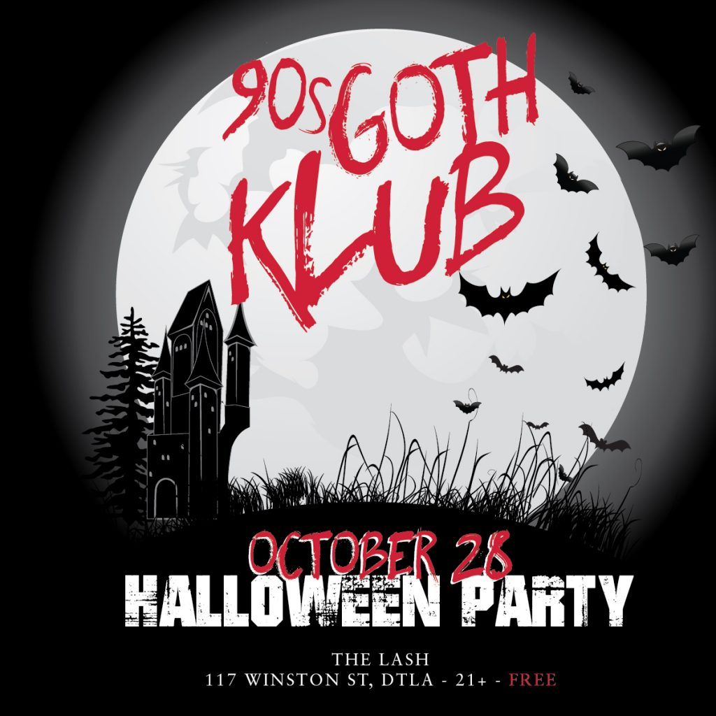 Das Bunker Halloween 2020 90s Goth Klub Halloween Party – Das Bunker