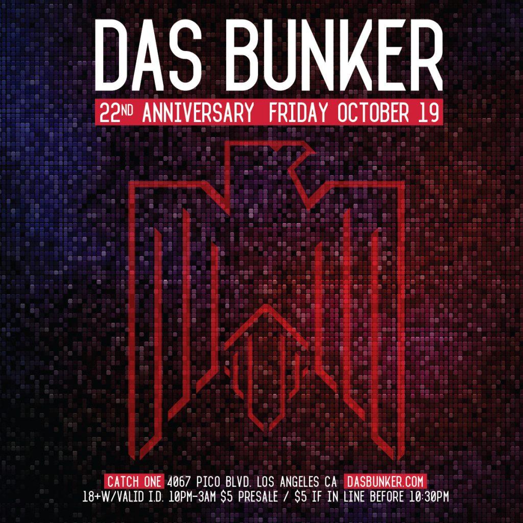 Das Bunker - 22nd Anniversary